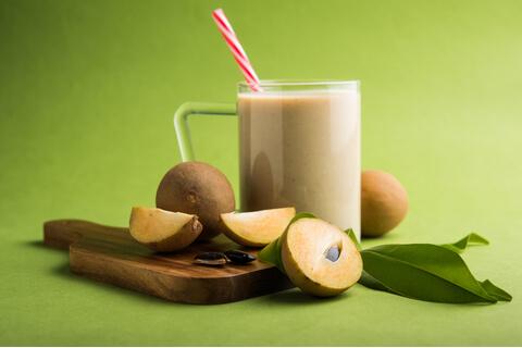 Chikoo Milkshake