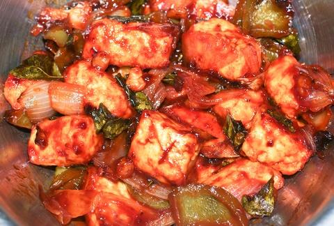 chili paneer dry