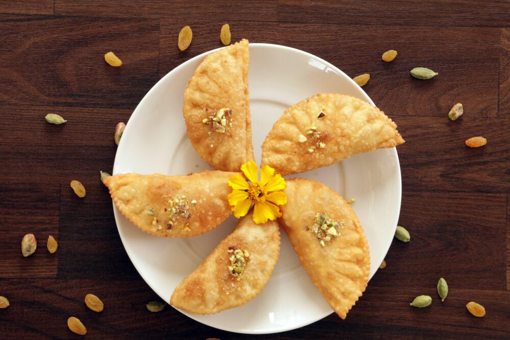 Baked Millet Gujia