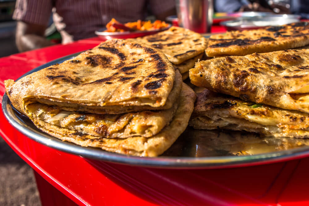 Ceylon Chicken Paratha