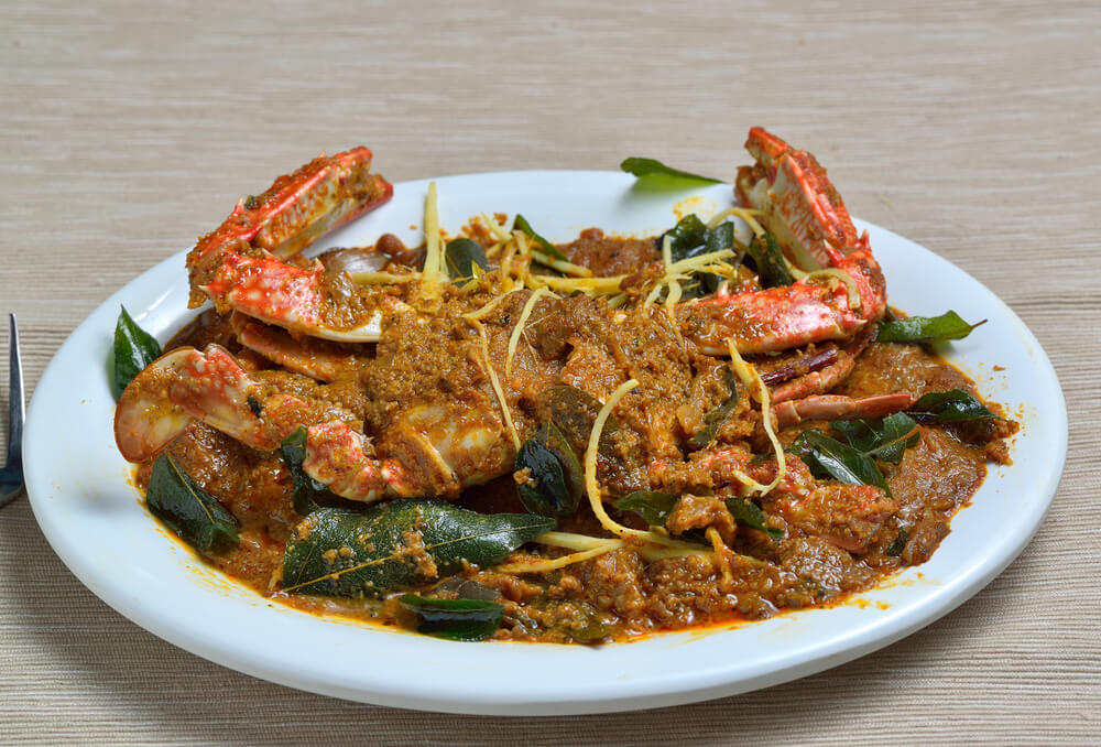 Chettinad crab