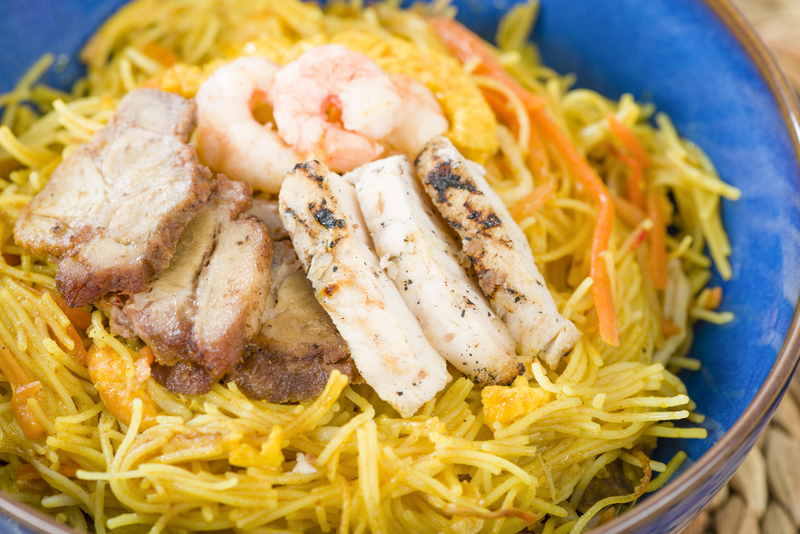 Chicken Singaporean Noodles