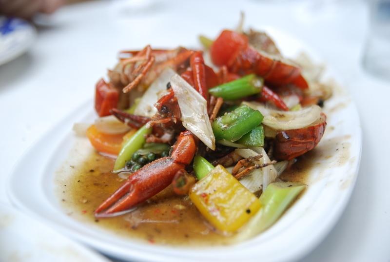 Crab Onion Fry