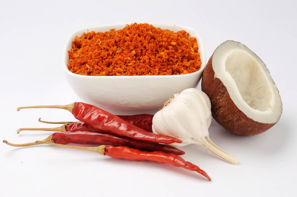 Dry Coconut Chutney