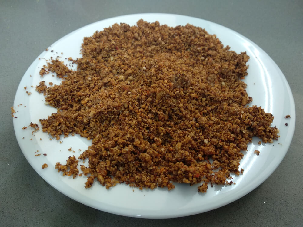 Dry Peanut Chutney