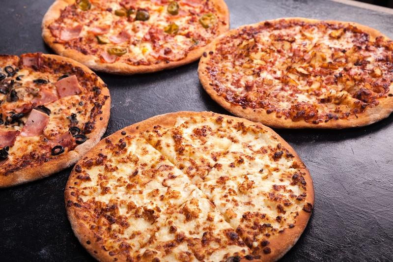 Homemade Delicious Pizzas