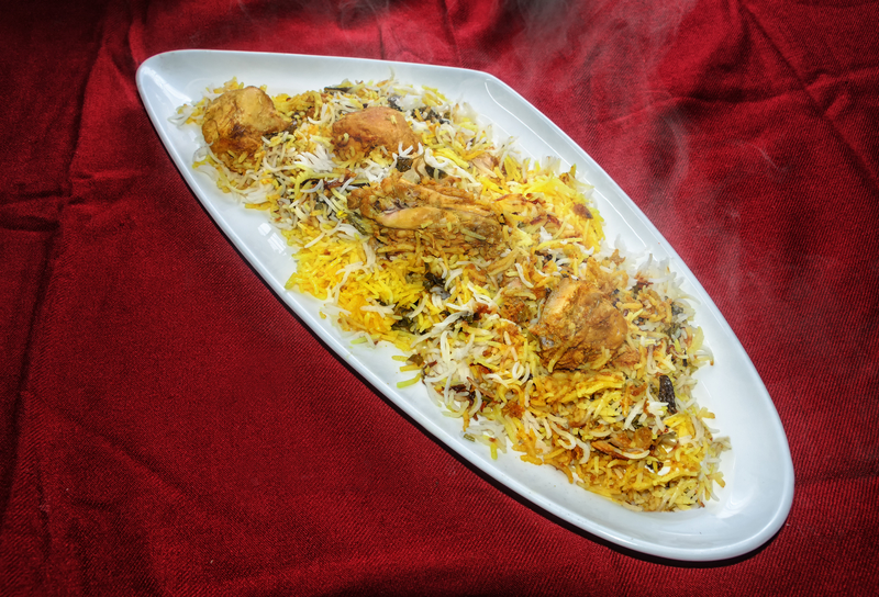 Hyderabad Chicken Dum Biriyani