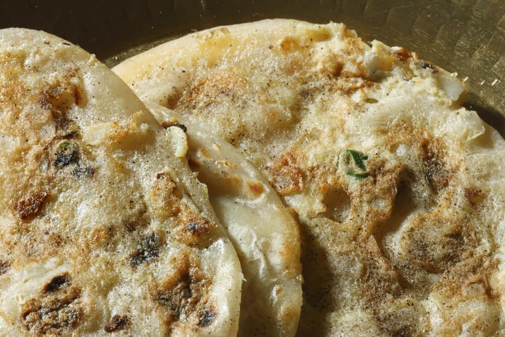 Madras Egg Paratha