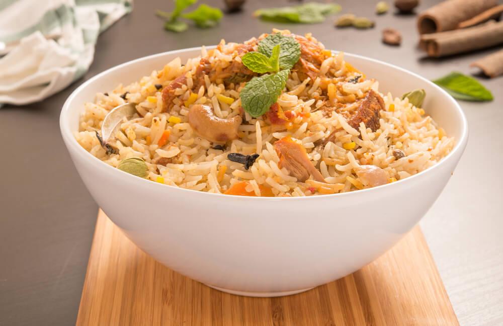 Mumbai Style Chicken Biryani