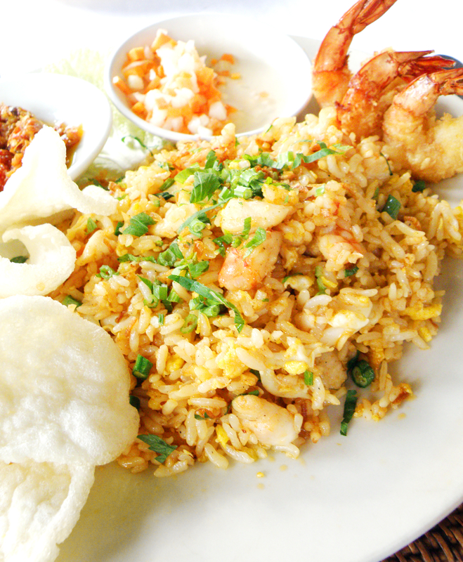Singaporean Prawn Fried Rice