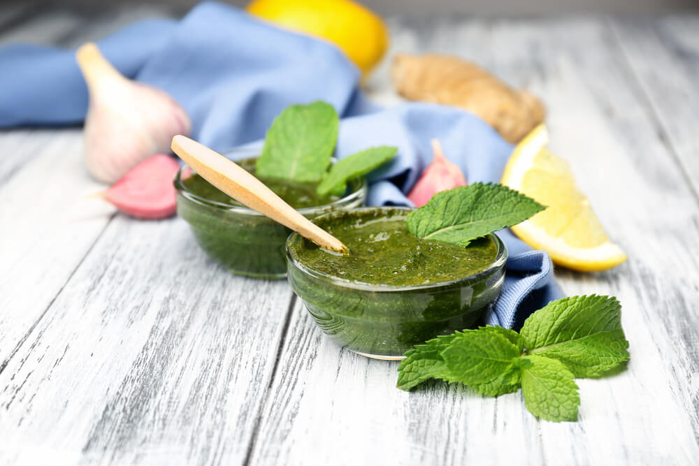 Tangy Mint Sauce