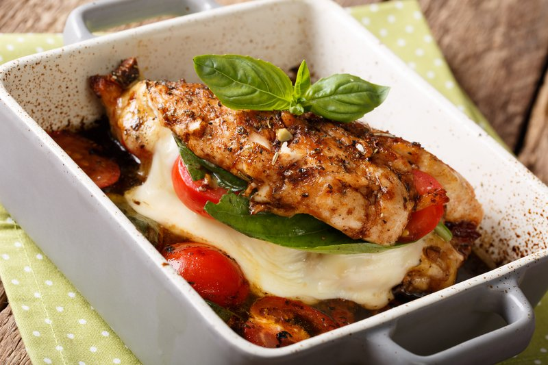 Baked Balsamic Chicken