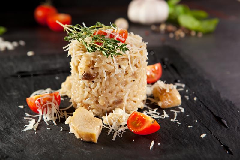 Gourmet Mushroom Risotto