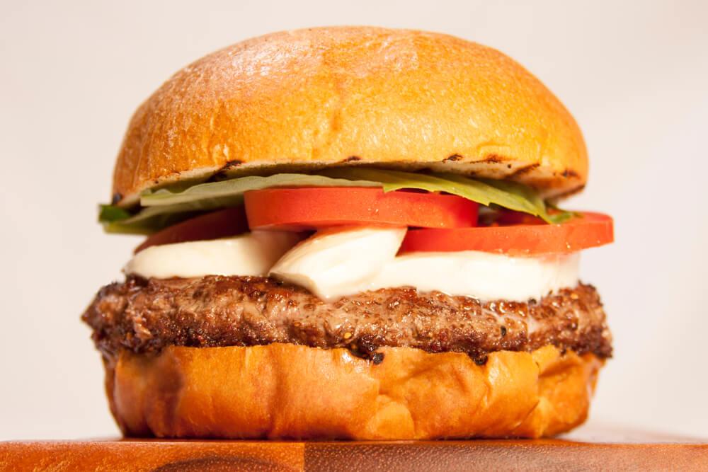 Scrumptious Caprese Burger