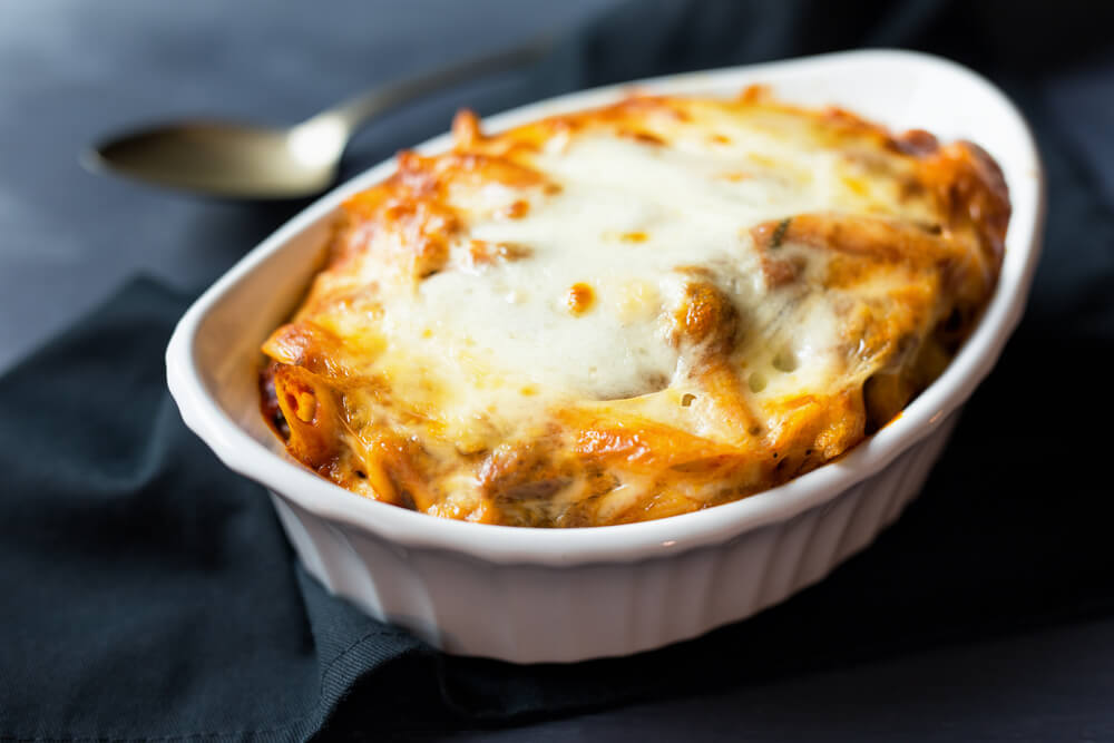 Scrumptious and Creamy Baked Ziti