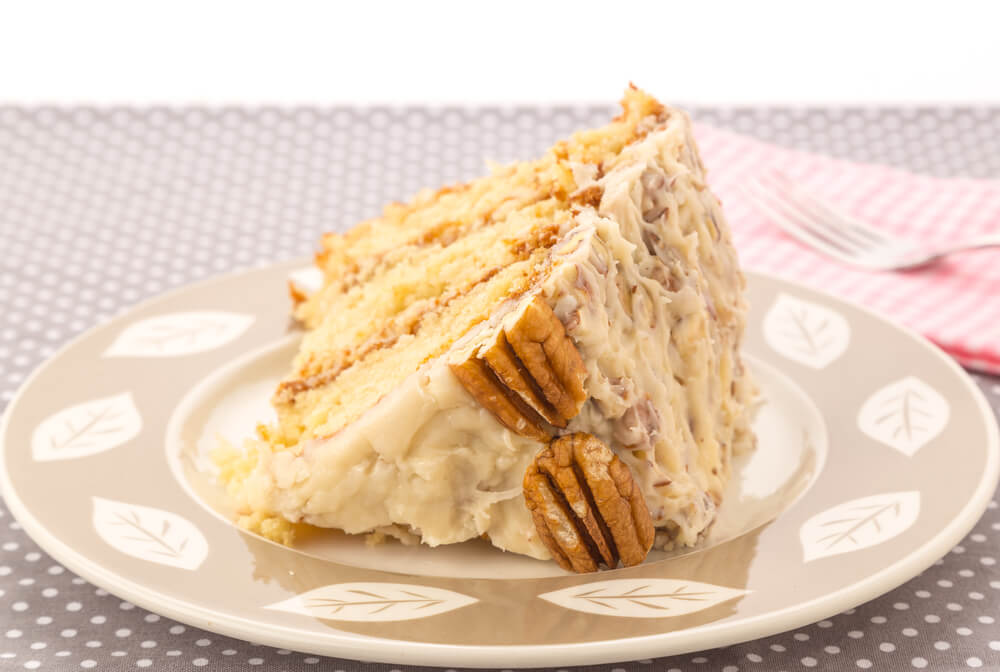 Silky Italian Cream Cake