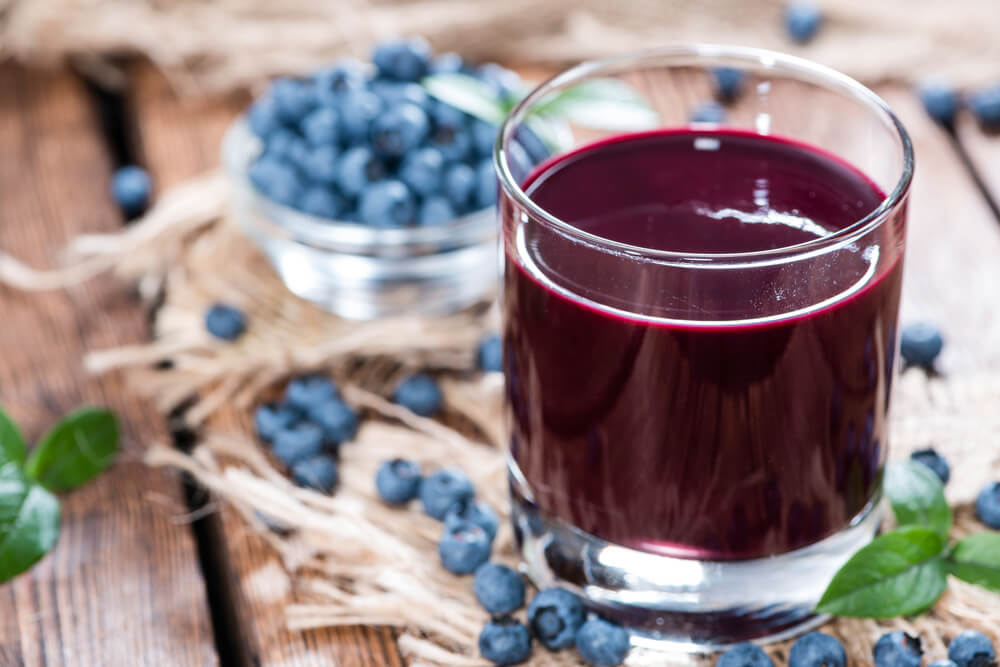 Blueberry Juice Recipe, How to make Blueberry Juice Recipe - Vaya.in