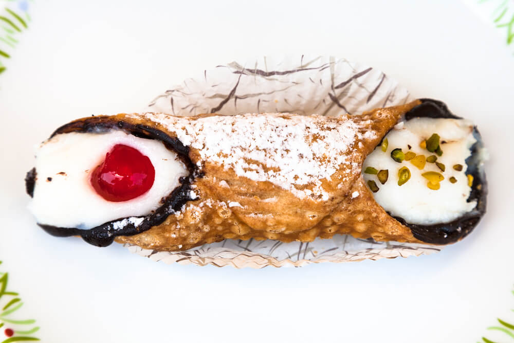 Cannoli Cake Roll