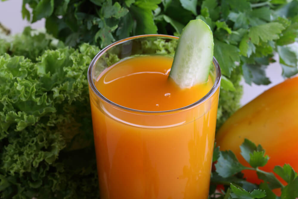 Green Pepper Juice