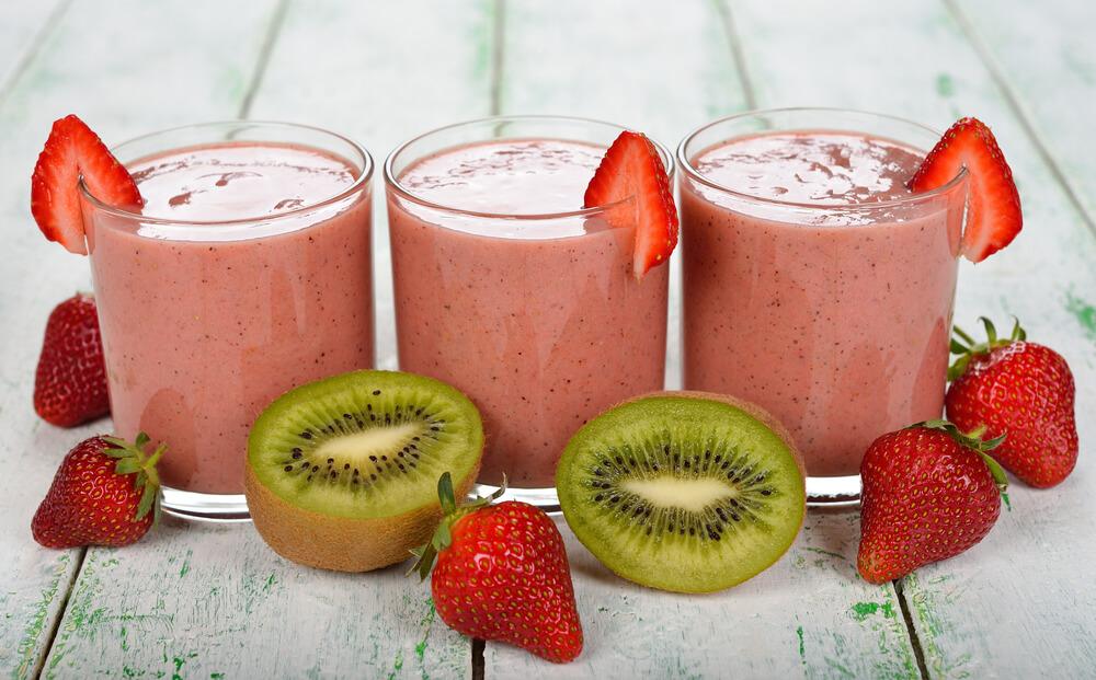 Kiwi Strawberry Juice