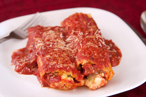 Make- Ahead Manicotti