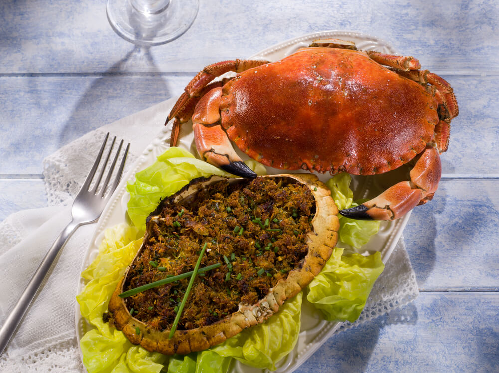 Normandy Stuffed Crab
