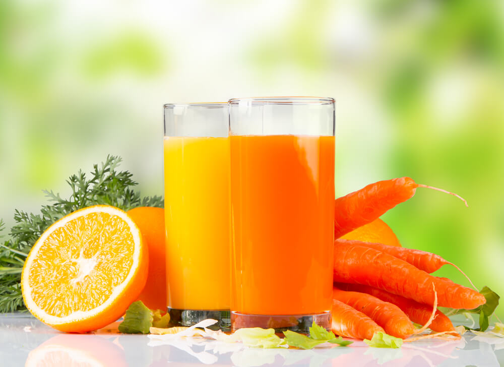 Orange and Carrot Juice