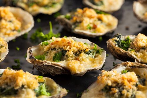 Sabayon of Breton Oysters