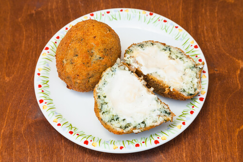 Tasty Spinach Arancini