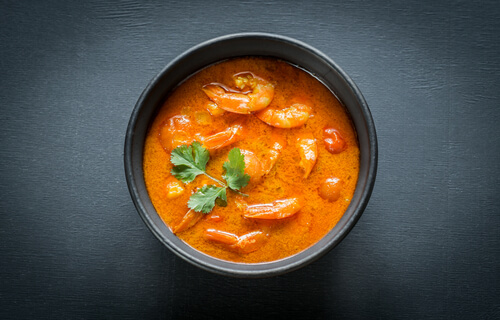 Awadhi Style Prawn Curry