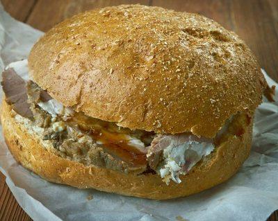 Beef on Weck Sandwich