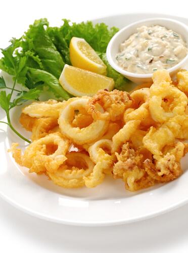 Calamari Fritters