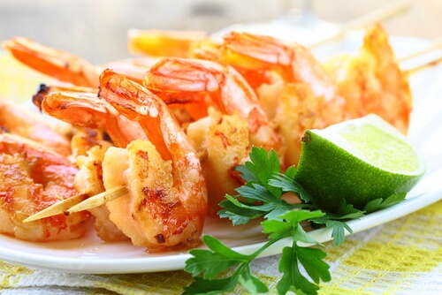 Crisp Coated Prawns