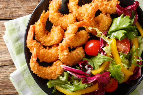 Peri Peri and Panko Crumbed Prawns