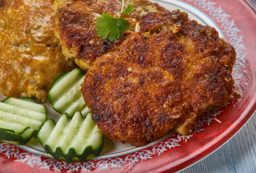 Prawn and Brinjal Cutlets
