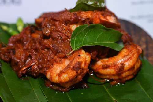 Tellicherry Pepper Prawns Fry