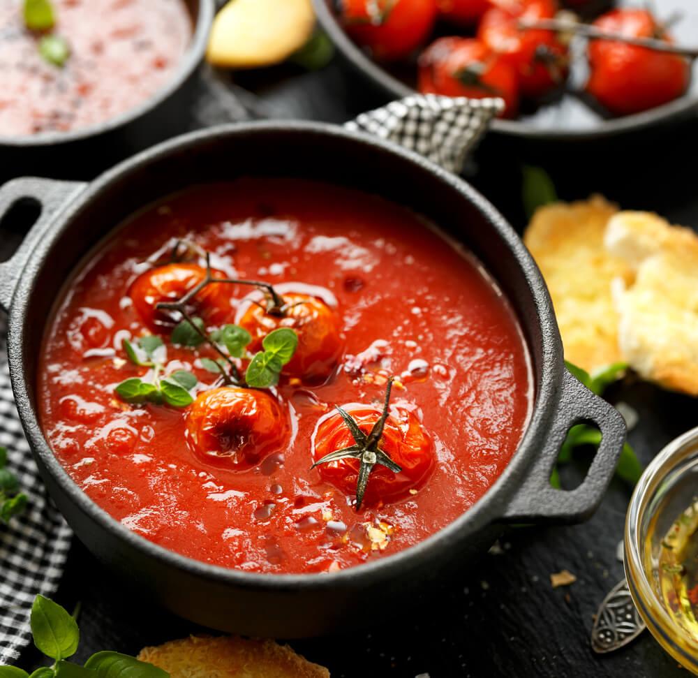 Tomato compote