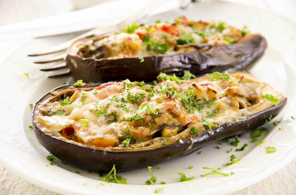 Summer Nights Eggplants