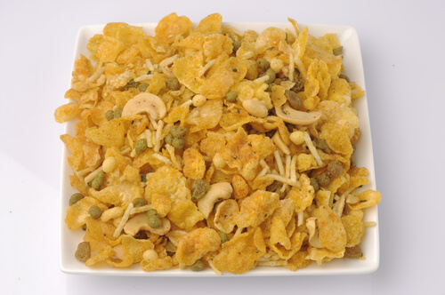 Corn Flakes Chiwda Recipe