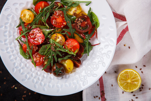 Marinated Cherry Tomato SaladMarinated Cherry Tomato Salad