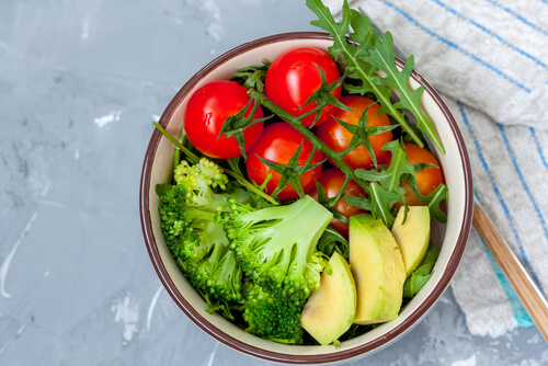 3 Natural Ingredients -Broccoli, Avocado,Tomatoes