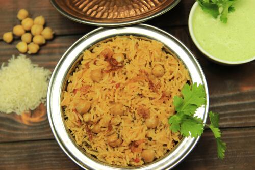 Channa Pulao Recipe