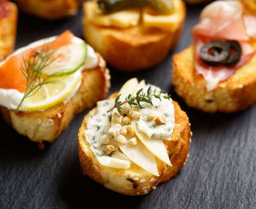 Nutty Goat Cheese Bites