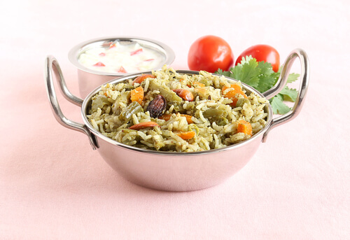 Potato Capsicum Pulao