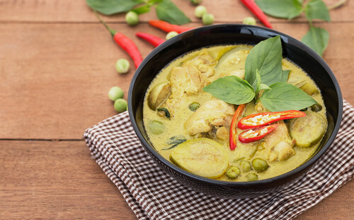 Authentic Thai Green Curry