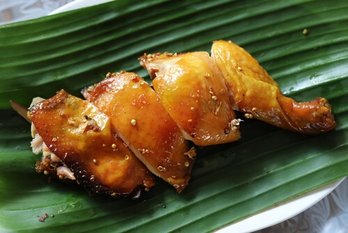 Barbequed Thai Style Chicken