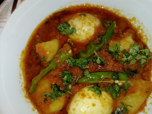 Egg and Potato Curry