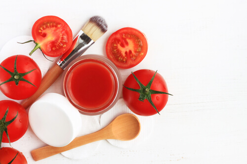 Tomato in Skincare