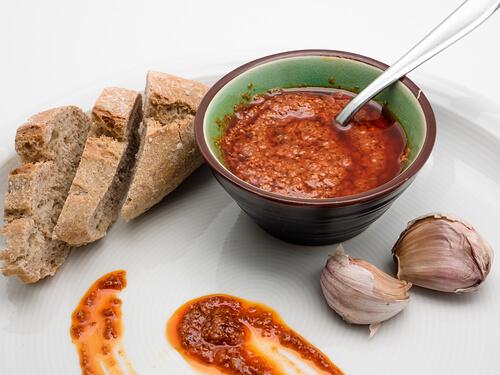 Trivia Canary Island Red Mojo Sauce