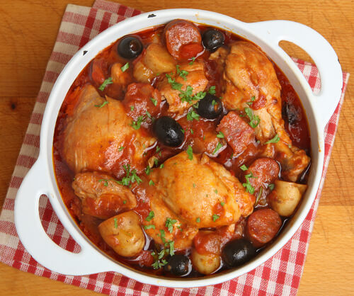 Viva Madrid Spanish Chicken Recipe How To Make Spanish Chicken Vaya